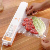 Wholesale Automatic Electric Vacuum Packing Machine Portable Household Food Vacuum Sealer Machine