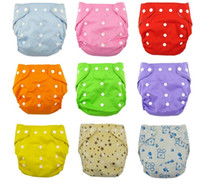 Wholesale Qianquhui Washable Baby Cloth Diaper Cover Waterproof color Baby Diapers Reusable Cloth Nappy Suit years kg