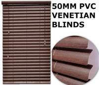Wholesale Horizontal Plain Blinds mm Pvc Venetian Blinds customized ladder Type mahogany