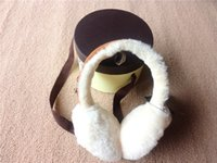 australian sheep wool - Australian sheep wool warm ear WGG Ear Muffs Wool ears warm winter sheep fur really cold earmuffs