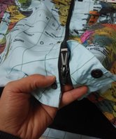 Wholesale 2016 New Cooperation Suprem jacket Flag mosaic Mens Hoodie map Jacket windbreaker The map of the world reflecting Coat