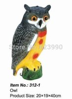 Wholesale Plastic Owl Hot Item g No Hunting Plastic Owl Decoys Good Tackle For Hunting