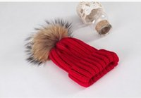 baby golf balls - 2017 new hat Children s hat Knitted hat Super ball Pure cotton Boy Girl Baby hat Adult cap Keep warm Winter hat Casual fashion