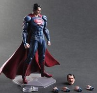 art clark - 20151045 Superman Action Figure Clark Kent Model Toy PLAY ARTS Dawn of Justice PVC Action Figure