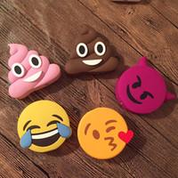bank funny - mAh Cartoon Power Bank Poop Ghost Tear Kiss Cat Devil Little Spirit Leaf Power Bank funny Emoji portable Power bank
