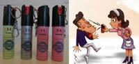 Wholesale 2017 Hot Sell NEW NATO CS GAS JA XA defensive perfume sprayer Pepper spray defender Women Men ML Free Ship