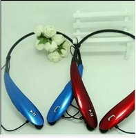Wholesale 50pcs HBS800 Headsets HBS Wireless Bluetooth Stereo Headset Earphone Handsfree in ear headphones HB s Headsets HB800 hbs900 A