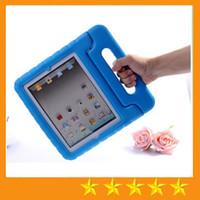 Enfants ipad poignées de cas Avis-Kids EVA mousse antidérapante Heavy Duty Defender Case Cover poignée pour iPad mini 1234 ipad 2/3/4 Air 5 6 Pro