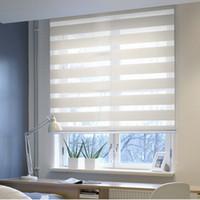 Wholesale sunshading motorized blackout zebra blinds