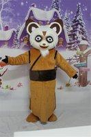 Wholesale Cartoon Mascot Costume Kungfu Panda Kungfu Master Cartoon Mascot Children Activity Dress Adult Size