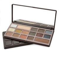 band size long - 16 Colors New Makeup Chocolate Eyeshadow Palette Matte Shimmer Warm Color Eye shadow Palette Band Make up Blush Palette Set