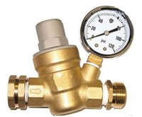 Wholesale way quot DN20 Brass Pressure regulating valve way through way type mpa manual operation pressure regulator valve