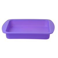 Wholesale 2016 Newest Silicone Container Storage Container Square Silicone Deep Dish Container Tray