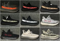Wholesale Boost V2 Beluga Sply Black White Red Oero Men Women Running Shoes Kanye West Yezzy Boosts Season With Box