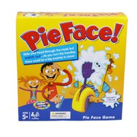 Wholesale Pie Face Game Toy Interactive cream pie smashing machine