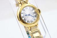 ball mens watch - Hot Sale Luxury Male Yellow Stainless Steel Watches Ball Golden Mens Brand Fashion Sytyle Quartz Wristwatch Modern Dress Sport Watch