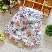 Wholesale Spring New Cotton Baby Girls Cardigan Coat Spend Three Flowers Lollipops Dot Jacket Cardigan Kids Children Clothing Autumn