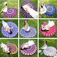 baby bath mats - Mandala Bikini Cover Ups Tapestry Beach Towel Bohemian Hippie Beachwear Chiffon Beach Sarongs Shawl Bath Towel Yoga Picnic Mat CCA5614