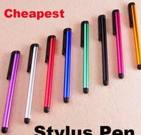 Wholesale DHL Capacitive Stylus Pen Touch Screen Pen For ipad Phone iPhone Samsung Tablet US008