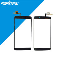 Wholesale Black For Alcatel One Touch Idol LTE Y OT6045 Touch Screen Digitizer Glass