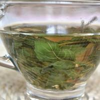 al por mayor té verde orgánico a granel-Hojas de Menta Perfumado Té Verde Orgánica Belleza Medicina Saludable Herbal Loose Bulk Té Todas las edades 10 Gram 1 Bolsa