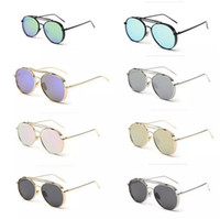 al por mayor estructura de metal para hombre de las gafas de sol de las gafas-Gafas de sol al aire libre para mujer de las gafas de sol al aire libre para hombre de las gafas de sol de las gafas de sol de las gafas de Desinger unisex de Desinger