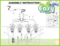 aeroponics systems - fitting room Mister set of aeroponics Full complete fittings for Aeroponics system Tub not included