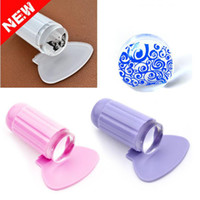 Wholesale 2 cm DIY Nail Art Templates Stamping Stamper Scraper Image Plate Manicure Tools Kits Silicone