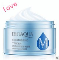 Wholesale Natural Marine mooring spring water frost white it moisturizes skin anti aging lotion Moisturizing cream water Fresh cream