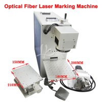 Wholesale LY fiber optical fiber laser marking machine W for metal wood pvc plastic V V with rotary axis