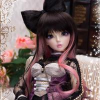 Wholesale Oueneifs fairyland minifee bjd model reborn baby girls boys dolls eyes High Quality toys shop make up