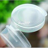 achat en gros de q pot-10pcs / lot Populaire Échantillon Boîte De Bocal 5g Boîte À Boutons Mini Q Boîte Petite Pot Fuite Crème Jars Verres Cosmétiques Bocaux Empty Maquillage Containers