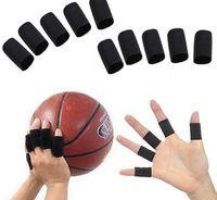 archery finger protector - 10pcs set Lengthen Elastic Finger Support Comfortable Archery Bunion Breathable Hallux Valgus Sprains Protector Thumb Bracket Fingers Wraps
