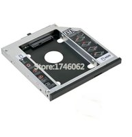 Venta al por mayor- para Lenovo IdeaPad Z50 Series Z50-70 Z5070 Cuaderno segundo HDD SSD Caddy segundo disco duro Drive Enclosure Case Adapter Replacement