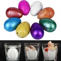 Wholesale Magic Hatching Growing Dinosaur Add Water Grow Dino Egg Children Kid Fun Funny Toys Gift Gadget