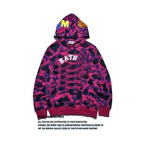 ape hoodies - 2016 Hoodies shark ape printing Fashion true brand hip hop clothing blouses men poloshirt plus size style XL
