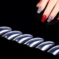 Wholesale Nail Tips set Acrylic UV Gel Salon Full Cover Half Cover Artificial Nail Art Tools each pieces