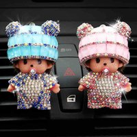 Wholesale The car perfume air conditioning outlet car perfume perfume clip female ornaments