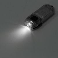 al por mayor mini usb llavero-Nitecore T Series Tubo 45LM 2 Modos Mini USB LED Llavero Linterna Recargable Llavero Llavero Luz Antorcha
