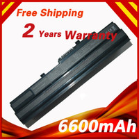advent wind - Black Laptop Battery For ADVENT For MSI Wind L1300 U100 U100W U100X U135DX A MS6837D1 U90XU90 BTY S11 BTY S12 BTY S13