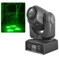 Wholesale DMX Mini Moving Head Light RGBW LED Stage PAR Spotlight Shapes Zoom Automatic Professional Lighting Equipment Channel Party Disco