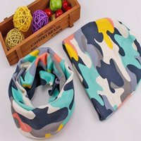 beautiful scarf pattern - Baby Beanies Scarf Set Infant Cotton Skullies Beautiful Style Print Pattern Novelty Hat Scarf Set for Kids