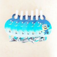 Wholesale pc Minions theme children birthday party supply home decoration event party supplies cartoon minion party decoration blowouts06