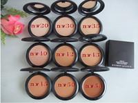 Wholesale Professional Makeup STUDIO FIX POWDER PLUS FOUNDATION FOND DE TEINT POUDRS g face powder NC NW Style