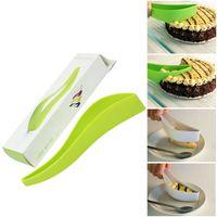 Wholesale Mini Pie Cutter Cake Slicer Guide Sheet Server Slice Bread Knife Kitchen Gadget