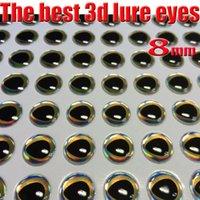 al por mayor proceso de pesca-2017new pescando los ojos del señuelo 3d perfectos que caen proceso los mejores ojos de pescados clasifican: 4m m - 8m m quntily: 1000pcs / lot