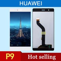 bar converter - High quality liquid crystal display for Huawei p9 lite LCD touch screen digital converter black white gold factory