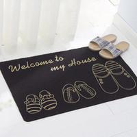 Wholesale Customize Carpets Modern Non Slip Mat Polyester Non Slip Mat At The Door Wedding Stair Carpet Corridor Advertising Pad Custom