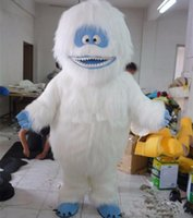 Wholesale Fancytrader Real Pictures Deluxe EVA Yeti Abominable Snowman Mascot Costume Fancy Dress Free Ship