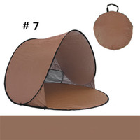 beach cars for sale - Hottest Sale Quick Automatic Opening Tents Outdoors Camping Shelters UV Protection Tent for Beach Travel Lawn Multicolor